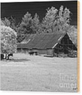 Irving College Barn Wood Print by   Joe Beasley