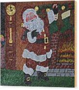 Is Santa Here Yet? Wood Print