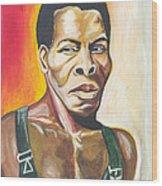 Isaac De Bankole Wood Print