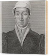 Isabella Of France  Consort Of Edward Wood Print