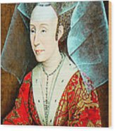 Isabella Of Portugal 1397-1471 Wood Print