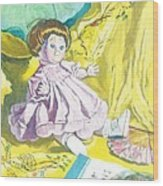 Isabel's Dolly Wood Print