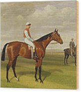 Isinglass Winner Of The 1893 Derby Wood Print by Emil Adam