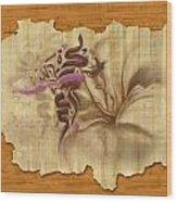 Islamic Calligraphy 031 Wood Print by Catf