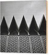 Islamic Geometry Wood Print