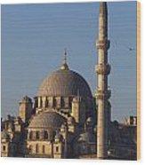 Islamic Mosque Istanbul, Turkey Wood Print by Mark Thomas