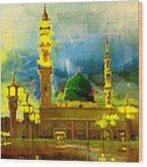 Islamic Painting 002 Wood Print