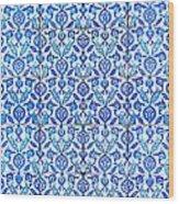 Islamic Tiles 01 Wood Print