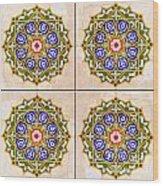 Islamic Tiles 03 Wood Print