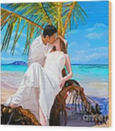 Island Honeymoon Wood Print