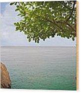 Island Hues Wood Print
