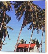 Island Life Wood Print