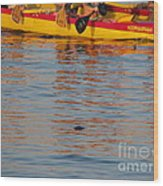Island Racing Wood Print