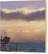 Island View Wood Print by Michelle and John Ressler