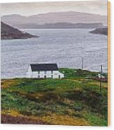 Isle Of Skye Cottage Wood Print
