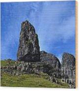Isle Of Skye Landscape Wood Print