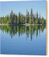 Isle Royale Reflections Wood Print
