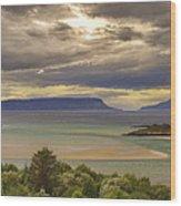 Isles Of Eigg And Rum Wood Print