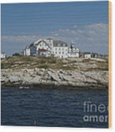 Isles Of Shoals 2 Wood Print