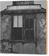 Ismay Ut Trading Post 03 Wood Print