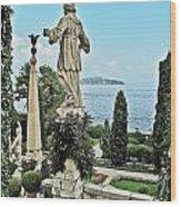 Isola Bella And Lake Maggiore Wood Print