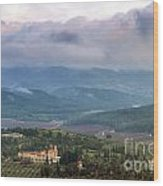 Israel Latron Monastery And Winery Wood Print
