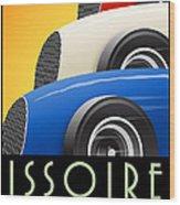 Issoire France Grand Prix Historique Wood Print