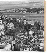 Istanbul Cityscape IIi Wood Print