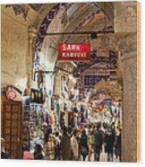 Istanbul Grand Bazaar 09 Wood Print