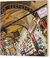 Istanbul Grand Bazaar 11 Wood Print