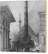 Istanbul: Porphyry Column Wood Print