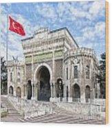 Istanbul University 03 Wood Print