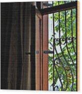 Istanbul Window Wood Print