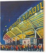 Isu - Jack Trice Stadium Wood Print