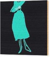 It Girl Inverted Wood Print