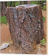 It Was A Tree Wood Print