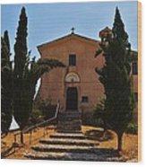 Italian Chapel Wood Print