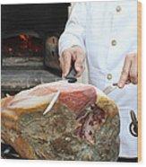 Italian Feast Wood Print
