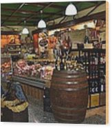 Italian Grocery Wood Print by Dany Lison
