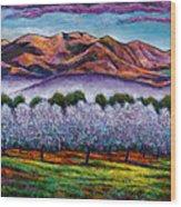 Italian Orchard Wood Print