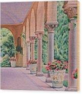 Italian Pavilion Wood Print