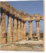 Italian Ruins 2 Wood Print