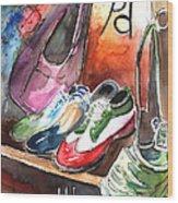 Italian Shoes 01 Wood Print