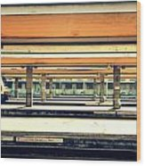Italian Train Station Wood Print