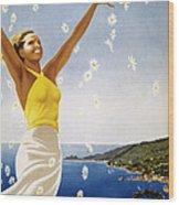 Italian Travel Poster, 1951 Wood Print