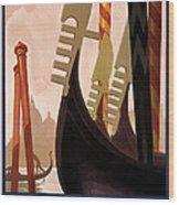 Italian Travel Poster, C1920 Wood Print