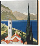 Italian Travel Poster, C1930 Wood Print