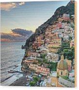 Italy, Amalfi Coast, Positano Wood Print