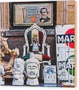 Italy Memorabilia Wood Print