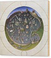Italy: Rome, 15th Century Wood Print